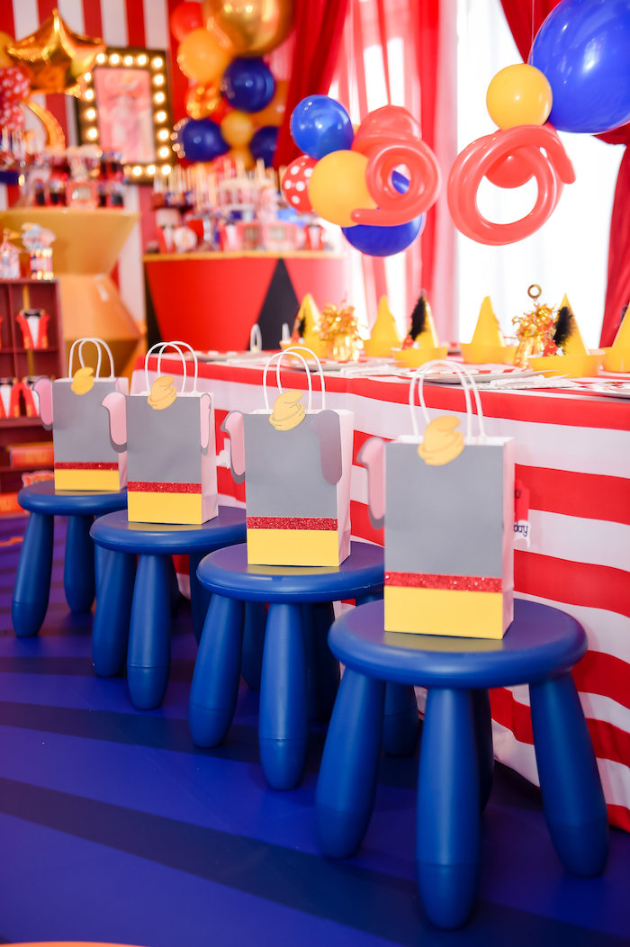 Dumbo's Circus Birthday Party on Kara's Party Ideas | KarasPartyIdeas.com (19)