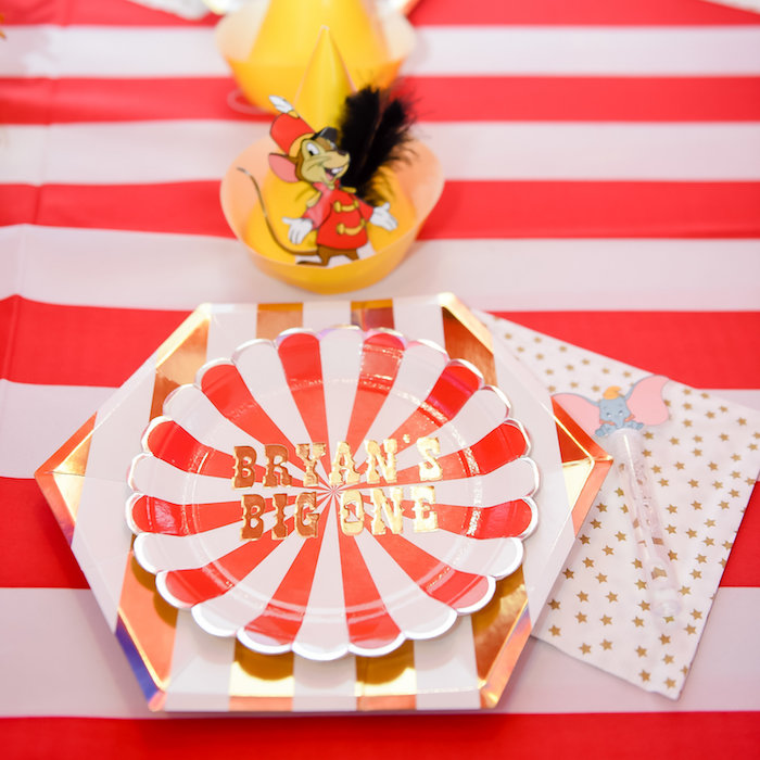 Dumbo's Circus Birthday Party on Kara's Party Ideas | KarasPartyIdeas.com (18)