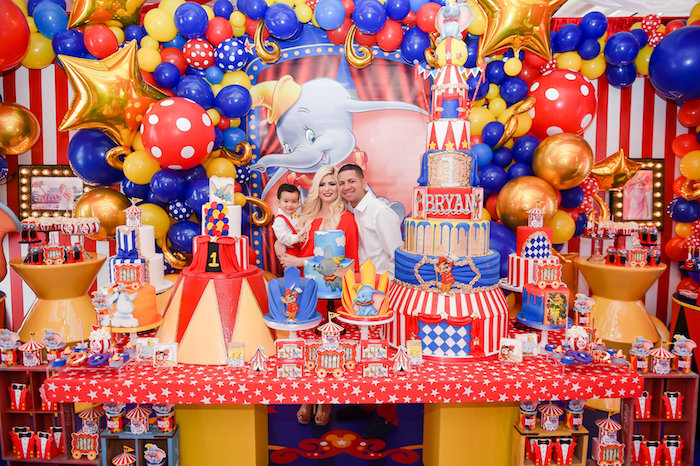 Dumbo's Circus Birthday Party on Kara's Party Ideas | KarasPartyIdeas.com (14)
