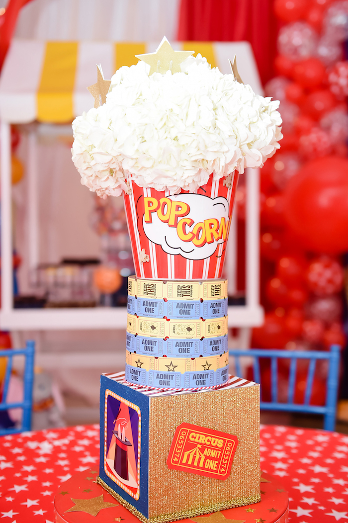 Dumbo's Circus Birthday Party on Kara's Party Ideas | KarasPartyIdeas.com (9)