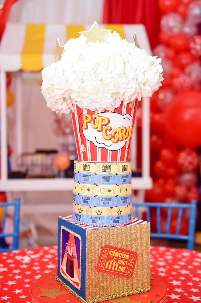 Dumbo's Circus Birthday Party on Kara's Party Ideas | KarasPartyIdeas.com (9)