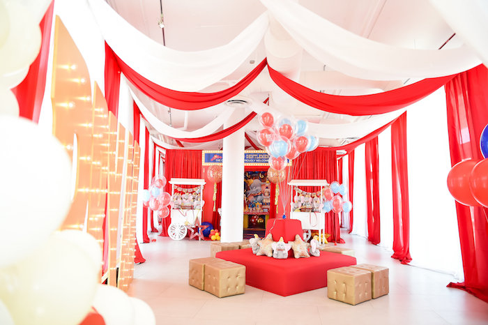 Dumbo's Circus Birthday Party on Kara's Party Ideas | KarasPartyIdeas.com (33)