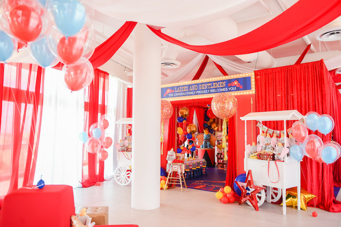 Dumbo's Circus Birthday Party on Kara's Party Ideas | KarasPartyIdeas.com (32)