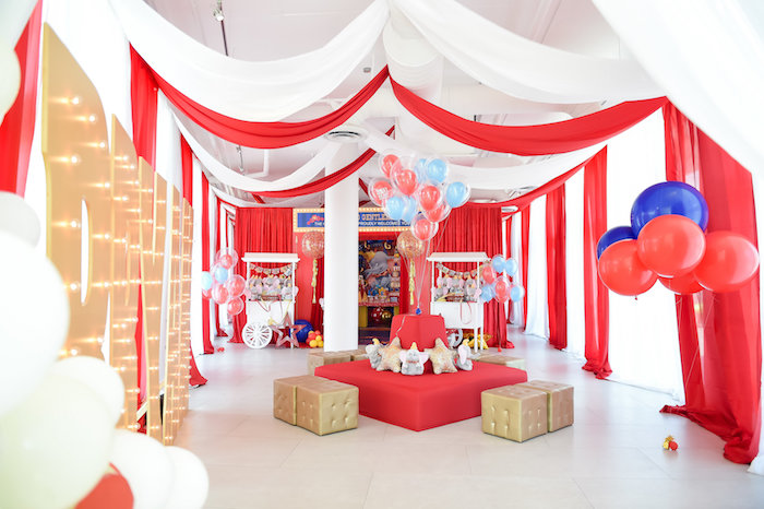 Dumbo's Circus Birthday Party on Kara's Party Ideas | KarasPartyIdeas.com (26)
