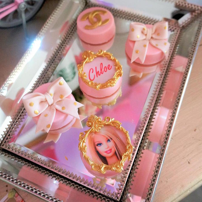 Pink Glam Fashion Oreos from a Fashionista THREEnager Birthday Party on Kara's Party Ideas | KarasPartyIdeas.com (17)
