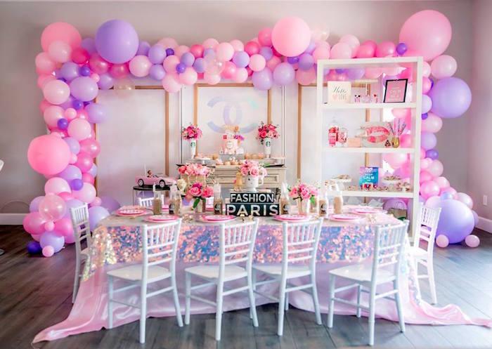 Fashionista THREEnager Birthday Party on Kara's Party Ideas | KarasPartyIdeas.com (14)