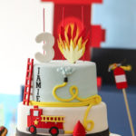 Fireman Birthday Party on Kara's Party Ideas | KarasPartyIdeas.com (1)