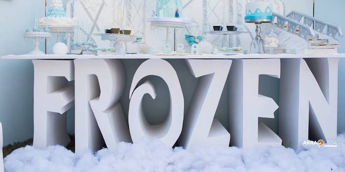 Frozen Birthday Party on Kara's Party Ideas | KarasPartyIdeas.com (1)