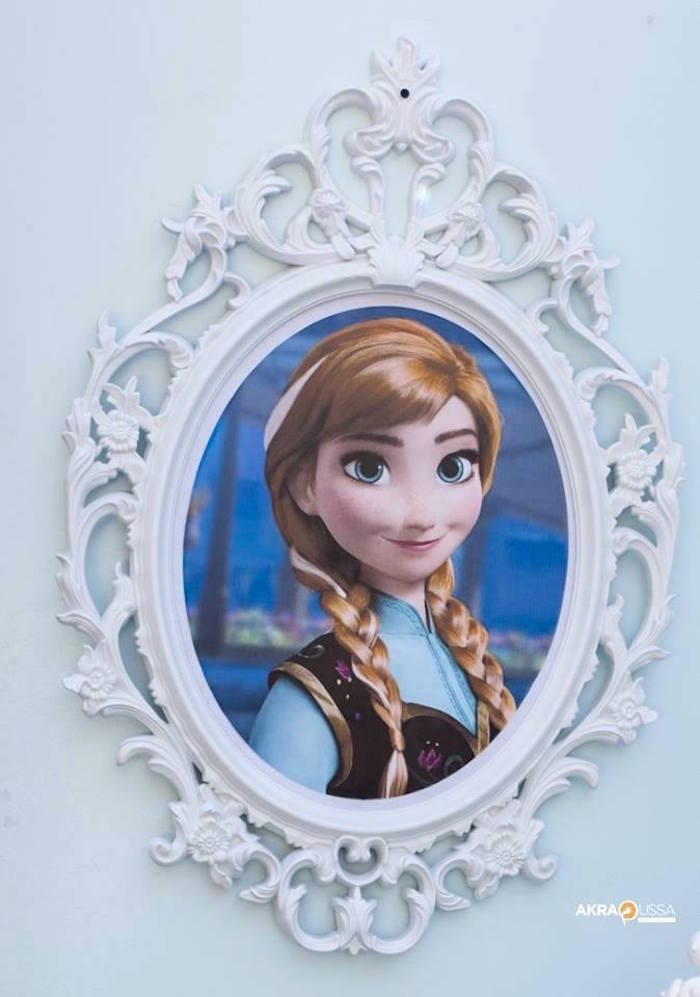 Anna from a Frozen Birthday Party on Kara's Party Ideas | KarasPartyIdeas.com (10)