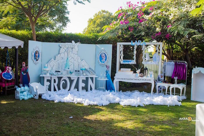 Frozen Birthday Party on Kara's Party Ideas | KarasPartyIdeas.com (9)
