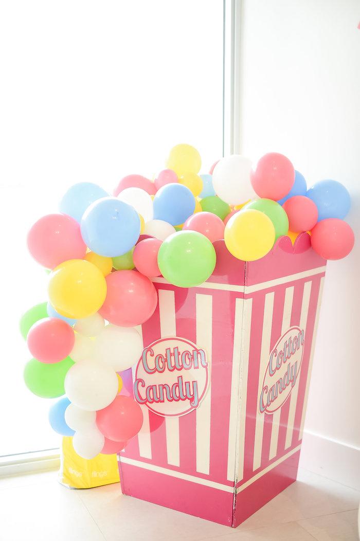 Kara S Party Ideas Girly Pastel Carnival Birthday Party