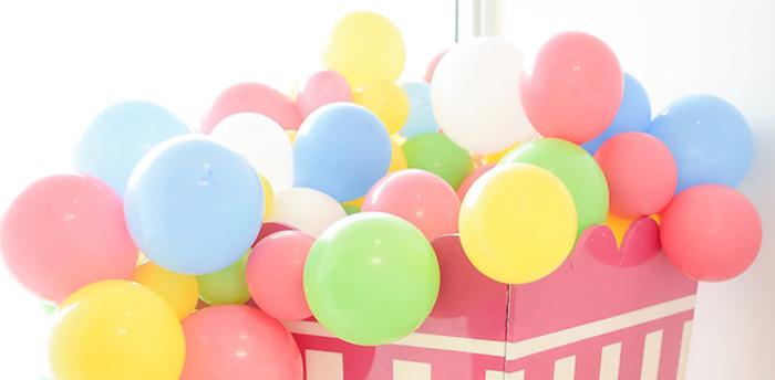 Girly Pastel Carnival Birthday Party on Kara's Party Ideas | KarasPartyIdeas.com (1)