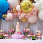Glam Balloon Princess Birthday Party on Kara's Party Ideas | KarasPartyIdeas.com (3)