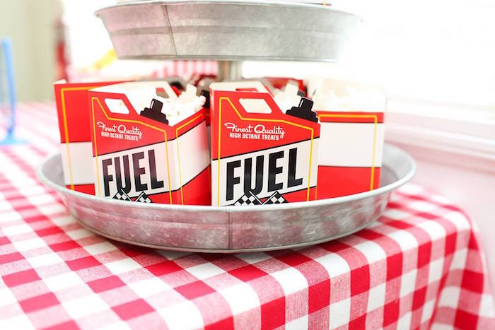 Fuel Boxes from a Hot Wheels Car Birthday Party on Kara's Party Ideas | KarasPartyIdeas.com (26)