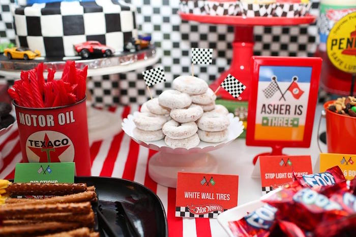Hot Wheels Car Birthday Party on Kara's Party Ideas | KarasPartyIdeas.com (22)