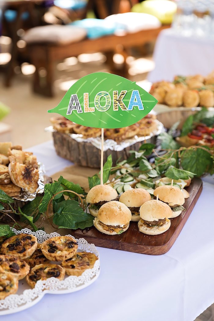 Sliders from a Jungle Animal Safari Birthday Party on Kara's Party Ideas | KarasPartyIdeas.com (5)