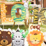 Jungle Animal Safari Birthday Party on Kara's Party Ideas | KarasPartyIdeas.com (1)