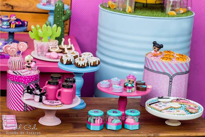 Birthday Cake Table Ideas Pinterest