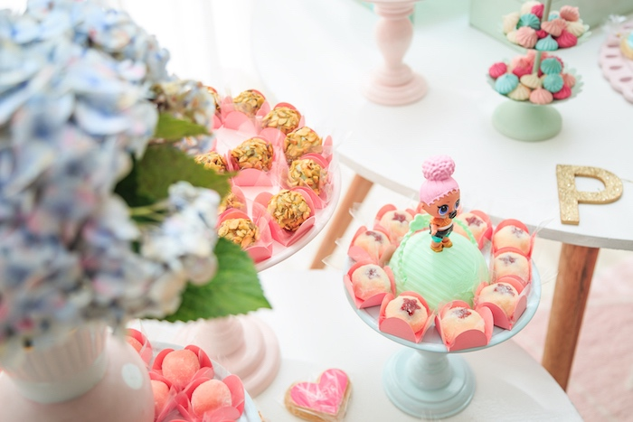 Doll Dessert Pedestal from a L.O.L. Surprise! Birthday Party on Kara's Party Ideas | KarasPartyIdeas.com (15)