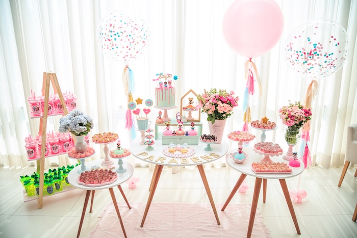 Dessert Spread from a L.O.L. Surprise! Birthday Party on Kara's Party Ideas | KarasPartyIdeas.com (9)