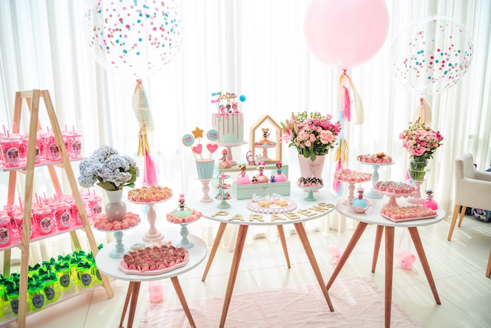 Dessert Spread from a L.O.L. Surprise! Birthday Party on Kara's Party Ideas | KarasPartyIdeas.com (25)