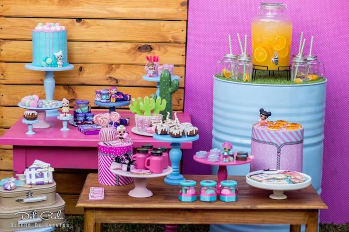 L.O.L. Surprise! Birthday Party on Kara's Party Ideas | KarasPartyIdeas.com (21)