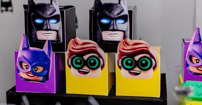 Lego Batman Birthday Party on Kara's Party Ideas | KarasPartyIdeas.com (1)