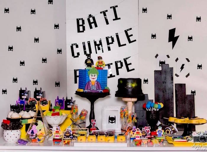 Lego Batman Birthday Party on Kara's Party Ideas | KarasPartyIdeas.com (8)