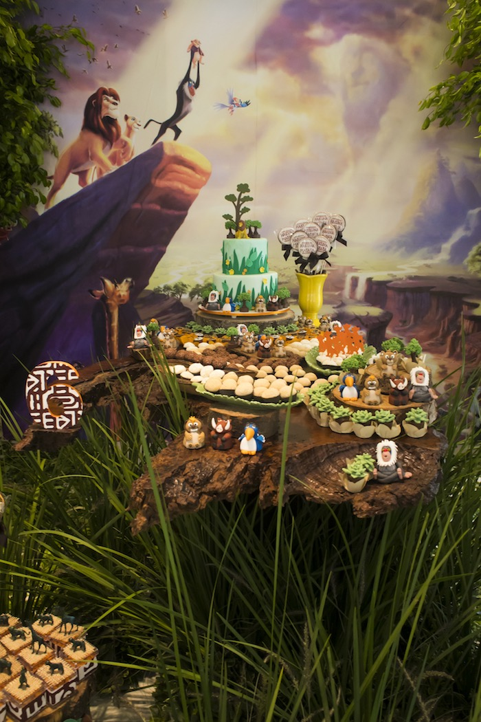 Lion King Birthday Party on Kara's Party Ideas | KarasPartyIdeas.com (6)