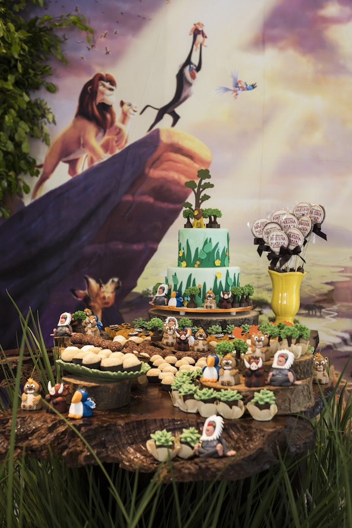 Lion King Birthday Party on Kara's Party Ideas | KarasPartyIdeas.com (27)