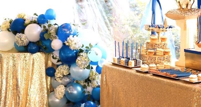 Little King Royal Baby Shower on Kara's Party Ideas   KarasPartyIdeas.com (21)