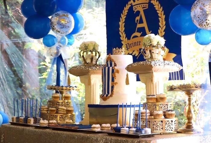Little King Royal Baby Shower on Kara's Party Ideas   KarasPartyIdeas.com (20)