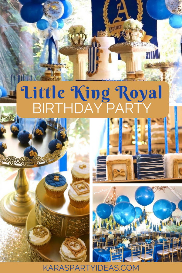 Kara S Party Ideas Little King Royal Baby Shower Kara S Party Ideas