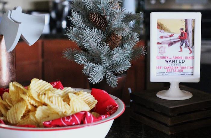 Chips from a Lumberjack Birthday Bash on Kara's Party Ideas | KarasPartyIdeas.com (20)