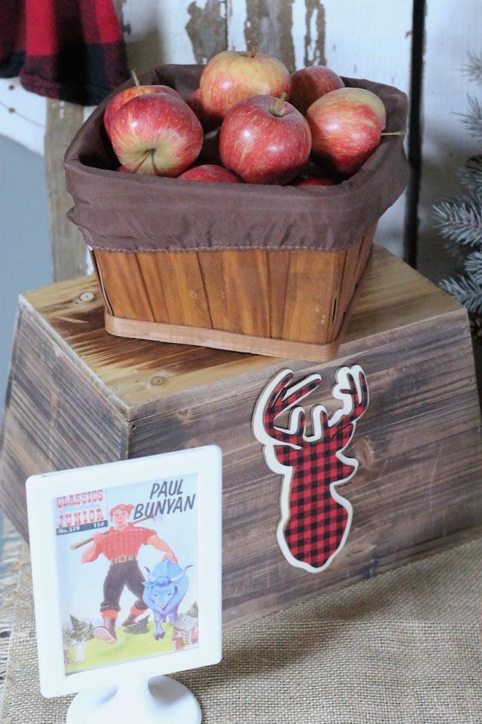 Lumberjack Birthday Bash on Kara's Party Ideas | KarasPartyIdeas.com (13)