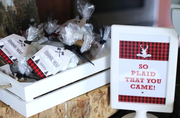 Lumberjack Party Favors from a Lumberjack Birthday Bash on Kara's Party Ideas | KarasPartyIdeas.com (12)