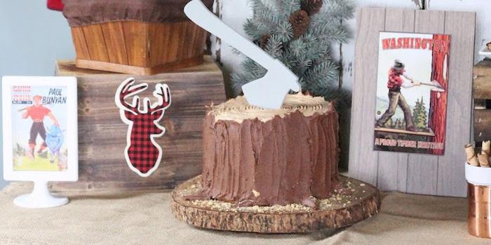 Lumberjack Birthday Bash on Kara's Party Ideas   KarasPartyIdeas.com (3)