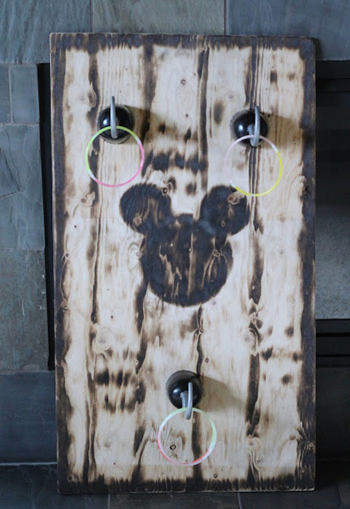 Pirate Hook Ring Toss from a Mickey Mouse Pirate Party via Kara's Party Ideas | KarasPartyIdeas.com (3)
