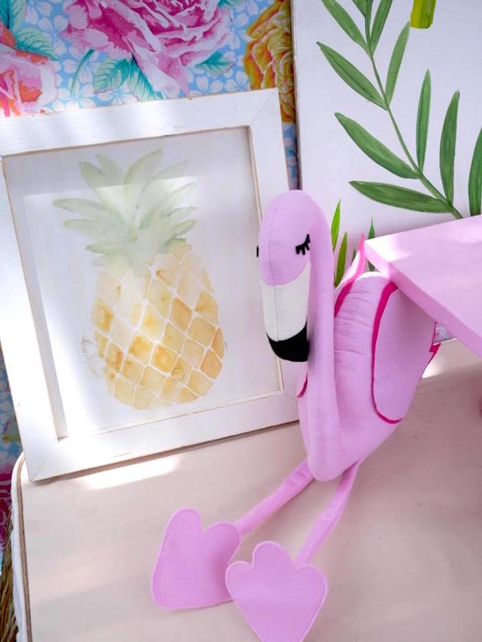 Tropical Decor from a Moana Birthday Party Luau on Kara's Party Ideas | KarasPartyIdeas.com (13)