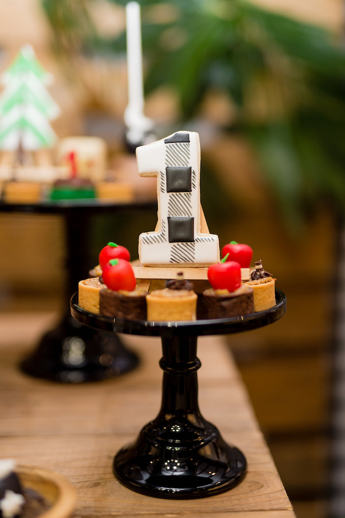 Camp Themed Desserts from a Modern Rustic Camping Birthday Party on Kara's Party Ideas | KarasPartyIdeas.com (18)