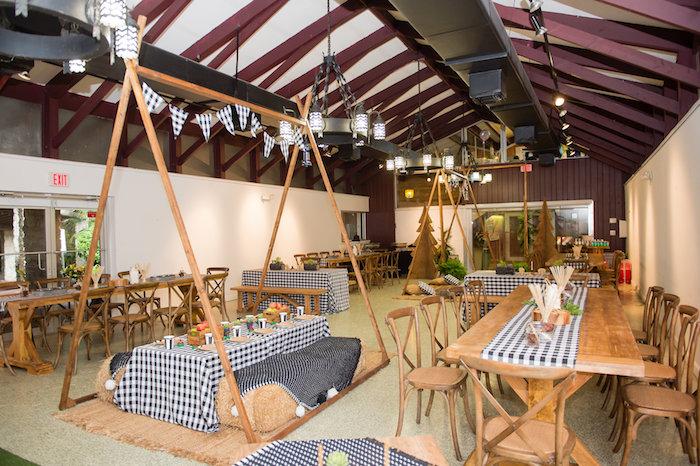 Modern Rustic Camping Birthday Party on Kara's Party Ideas | KarasPartyIdeas.com (43)