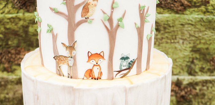 Modern Woodland Baby Shower on Kara's Party Ideas | KarasPartyIdeas.com (1)