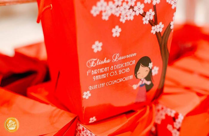 Mulan Printed Chinese Favor Boxes from a Mulan Inspired Birthday Party on Kara's Party Ideas | KarasPartyIdeas.com (6)