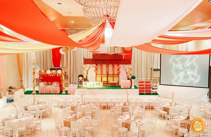 Mulan Inspired Birthday Party on Kara's Party Ideas | KarasPartyIdeas.com (10)