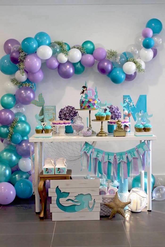 Mystical Mermaid Party on Kara's Party Ideas | KarasPartyIdeas.com (3)
