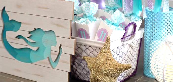 Mystical Mermaid Party on Kara's Party Ideas | KarasPartyIdeas.com (1)