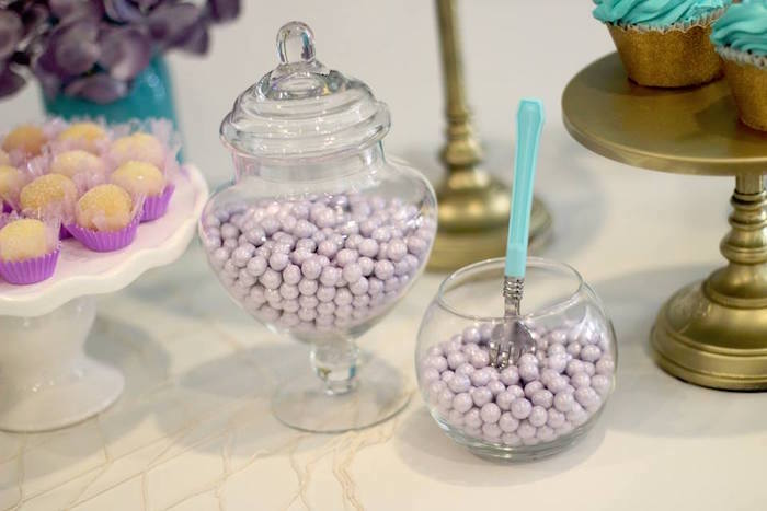 Candy Jars from a Mystical Mermaid Party on Kara's Party Ideas | KarasPartyIdeas.com (12)