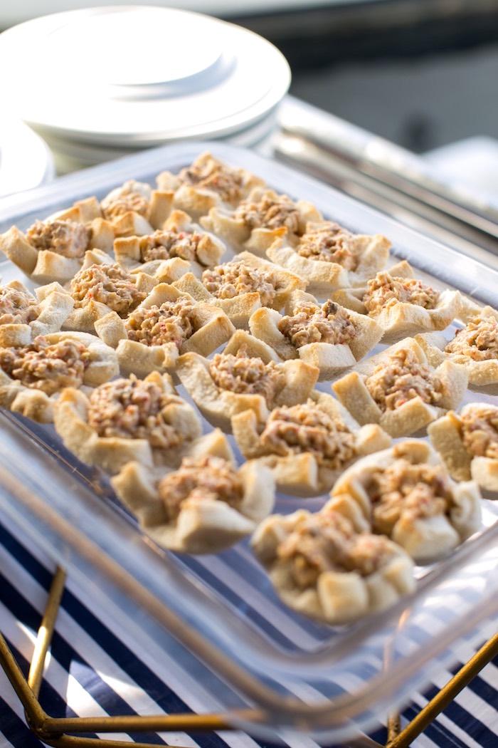Food Tray from a Nautical Yacht Birthday Party on Kara's Party Ideas   KarasPartyIdeas.com (17)