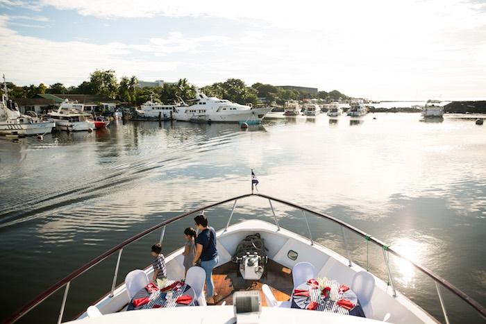 Guest Tables from a Nautical Yacht Birthday Party on Kara's Party Ideas   KarasPartyIdeas.com (9)