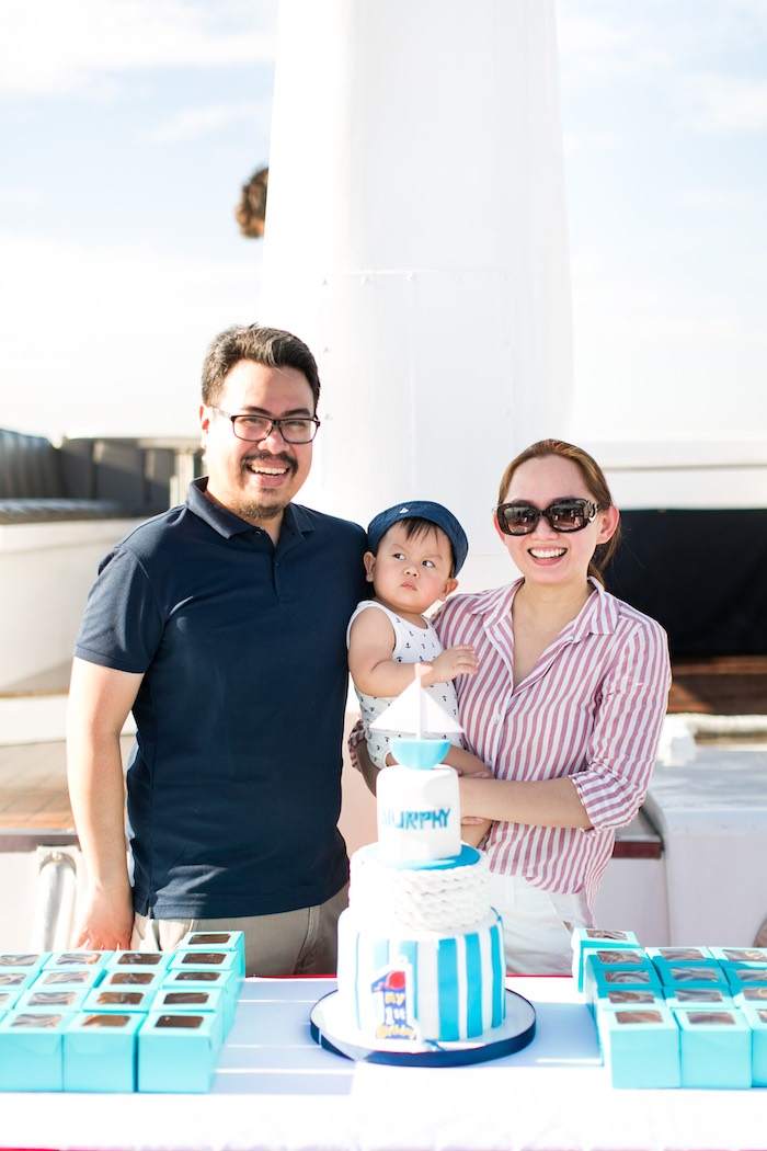 Nautical Yacht Birthday Party on Kara's Party Ideas | KarasPartyIdeas.com (7)